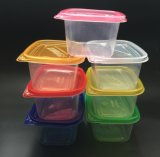Conteneur remplaçable en plastique de plats à emporter de cadre de déjeuner de repas de micro-onde de pp