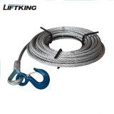 Guincho da corda de fio de Liftking 800kg com CE