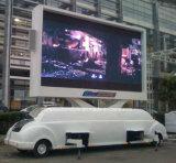 fuori rimorchio registrabile dello schermo LED del veicolo variopinto LED del portello