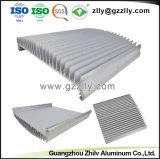 Plata Anodize para extrusión de aluminio anodizado con disipador de calor y de mecanizado CNC