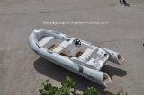 Шлюпки шлюпки нервюры Liya 4.3m рыбацкая лодка малой малой раздувной малая