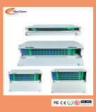 """Have a temperature to Optical Cheap 19 """" rack Mounted 72 cores ODF fiber Optic distribution box"""