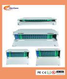 """Barato em fibra óptica montado em rack de 19"""" 72 núcleos de fibra óptica ODF Caixa de Distribuição"""