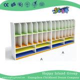 L'école en bois couleur lumineux trois sacs à couches Cabinet (HG-5412)