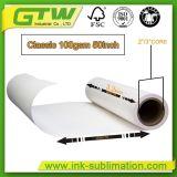 Anti-Curled Fu 100 gramos de papel de transferencia de calor con tres revestimiento Premium