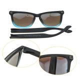 Ручной Tr90 рамы легкий вес Женщины Мужчины спорта солнечные очки