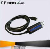 # câble usb de Fangpusun pour le contrôleur solaire bleu de charge de MPPT