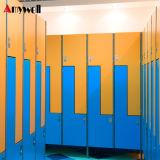 De aangepaste Kast van de Gymnastiek van de Deur van het Kabinet HPL 1 van Kleren H1850*W380*D450mm