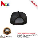 中国の帽子の工場OEMの方法わらの網の野球のトラック運転手の帽子