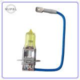 H3 dorato che mette a fuoco la lampada automatica della nebbia di 12V 55W