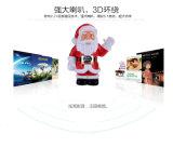 공장 도매 휴대용 이중 USB 재충전용 Bluetooth 스피커 크리스마스 음악 플레이어