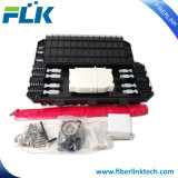 12-192 type horizontal fermetures des faisceaux 4in/4out d'épissure de fibre