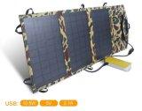 11W Semi flexível do painel do carregador de Energia Solar Portátil