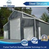 Diseño de elementos prefabricados de estructura de acero de la luz de la construcción de almacén