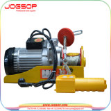 휴대용 전기 호이스트 600kg & 220V 50 60Hz 의 소형 전기 철사 밧줄 호이스트