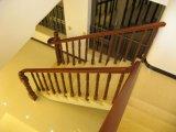 Лестница твердой древесины дуба золы бука для домашнего украшения