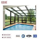 Алюминиевая стеклянная дом с стеклом от китайского поставщика