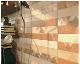 azulejo de cerámica interior esmaltado Matt de la pared 3D-Inkjet para la sala de estar (CP307)