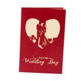 3D Creative Sweety Tarjeta de felicitación Tarjetas de invitación de boda