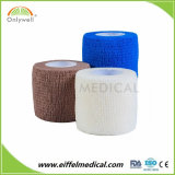 Vendaje cohesivo del vario trauma adhesivo elástico poroso de alta densidad