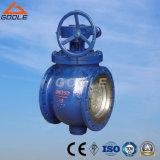 Il getto o l'entrata superiore forgiata della Cina ha flangiato valvola a sfera (GASQ347F)