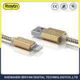 100cm de raio do fio do carregador de dados USB Cabos móveis