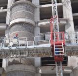Plataforma de Trabalho em mastros de construção