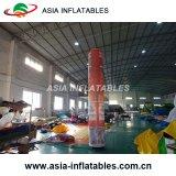Caso os tubos infláveis decoração, almofada insuflável bolota Cone de iluminação