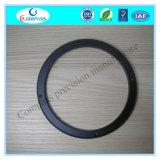 Прокладка колеса T6 алюминия 6061 части CNC Latheturning черная анодированная