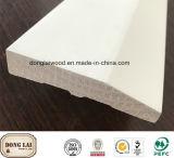 Baseboard chinês projetado novo da proteção da parede do abeto