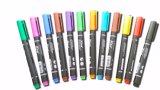 Crayon lecteur de CD de papeterie de fourniture de bureau de Dix couleurs