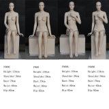 Fiberglas Astract obere Karosserien-weibliches Mannequin für Bildschirmanzeige
