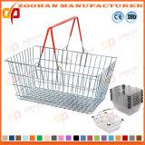 Cesta de compras de supermercado Metal (Zhb18)