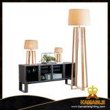 Moderne gute Qualitätshölzerne Rahmen-Halter-Fußboden-Lampe (LBMD-DT)