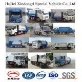 Dongfeng 7-8cbmのコンパクターのごみ収集車