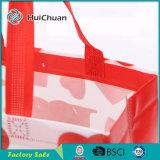 Sacchetto non tessuto laminato fabbrica con il sacchetto di Tote di stampa