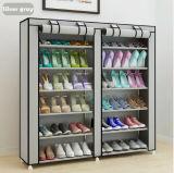Equipamento para Engraxar os Sapatos de armário de racks de grande capacidade de armazenamento de dados móveis domésticos DIY Rack Sapata portátil simples (FS-03M)