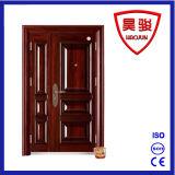 Стальная пожаробезопасная дверь с отчетом о CCC &Test, двойной дверью