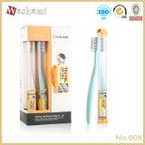 Toothbrush adulto do curso das cerdas do carbono do trigo de Washami