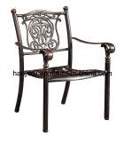 Patio extérieur / jardin // / en aluminium moulé Chaise en rotin HS3172c