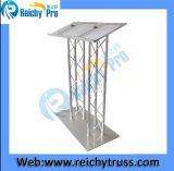 Discurso de aluminio curvo de stand con Truss