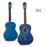 Preço grossista Aiersi artesanal de 39 polegadas a cores de guitarra clássica