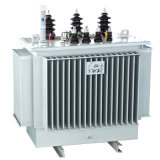 Double transformateur de distribution d'Immesed de pétrole du bloc d'alimentation 3phase 630kVA d'enroulement