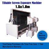 Exposição de tela vertical máquina para impressão de tela