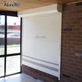 Abat-jour à télécommande en aluminium d'obturateur d'auvent de porte de rouleau