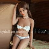 куклы влюбленности силикона груди 140cm плоские с цветом кожи светлого Tan