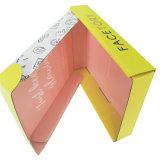 Amarillo y el papel barato cuadro corrugado para embalaje de regalo