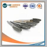 Grande dureté longue tige de carbure de tungstène bavures rotatif