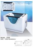 3355 El tema de un diseño simple bebé ducha bañera