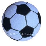 22cm diameter Opblaasbare duurzame Kleverige Voetbal voor voetbalpijltjes met magische band